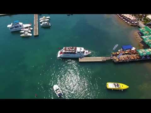 Ploce beach - Boat line