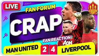 GIFTED LIVERPOOL TOP 4 & SANCHO! Manchester United 2-4 Liverpool | LIVE Fan Forum
