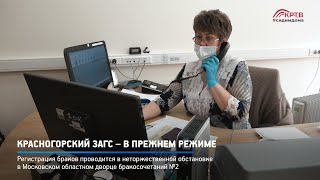 КРТВ. Красногорский ЗАГС – в прежнем режиме