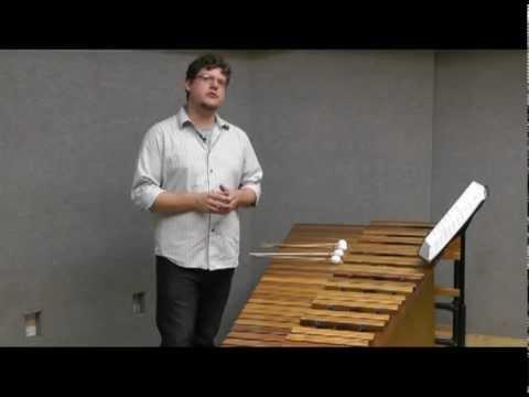 Matt Sharrock - 4-mallet Sight Reading