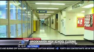 Last Day for Brookhaven Students Before School Closes for Good
