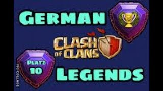 GERMAN LEGENDS Endergebnis3 /CLASH OF CLANS/ EVENT CLAN /CW + TROPHY PUSH / POKIJAGD /DEUTSCH/GERMAN