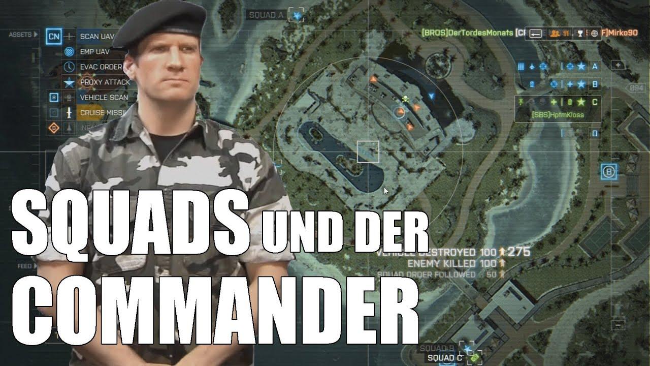 Battlefield 4 Tutorial: Squad-System und Commander-Modus - Battle Bros