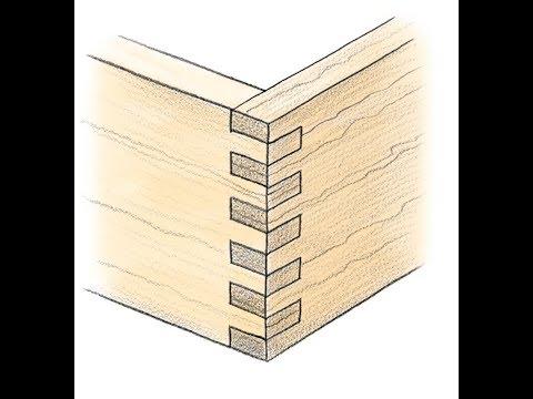 DIY- How to joint wood - Finger wood | Hướng dẫn làm mộng gỗ Finger