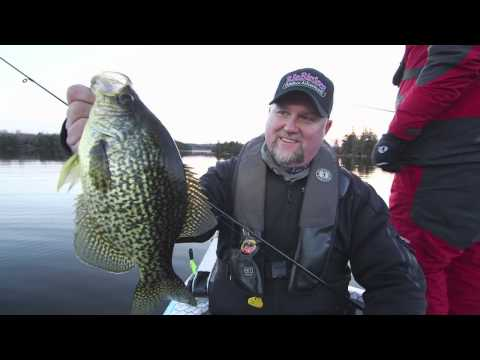 Get the Net For Late Season Crappie - Dave Mercer's Facts of Fishing THE SHOW