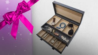 Top 10 Men Jewelry Box Gift Ideas / Countdown To Christmas 2018! | Christmas Gift Guide
