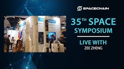 SpaceChain at the 35th Space Symposium 2019