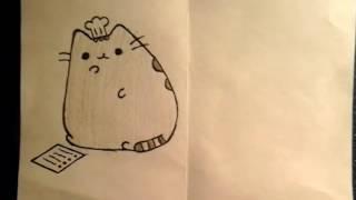 Как нарисовать Пушина-повара?)))
