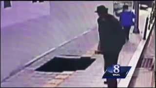 Video  Pedestrians fall into sidewalk sinkhole in South Korea   Local News   WGAL Home