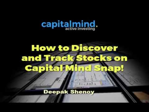 How to Discover Stocks Using Capital Mind Snap!