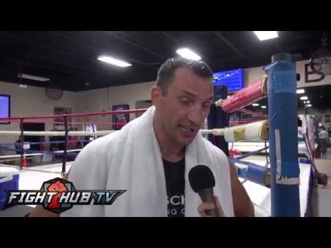 Wladimir Klitschko's thoughts on MMA and Fedor Emelianenko