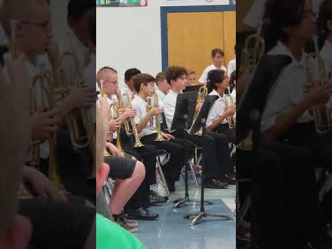 Marana Middle School winter concert