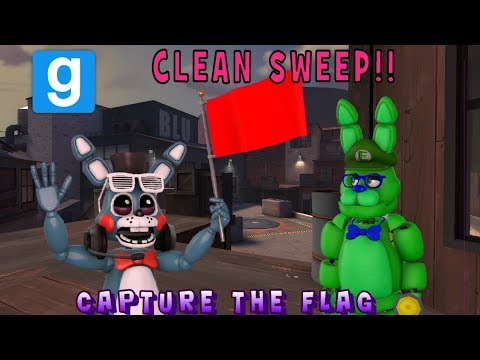UNBEATABLE CLEAN SWEEPS!! || Garry's Mod Capture the Flag || Zany Gmod #71