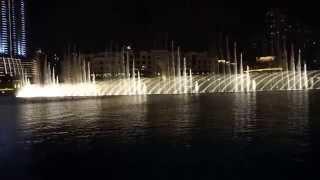 Dubai Fountain - Hossam Ramzy & His Egyptian Ensemble-Enta Omri (I)