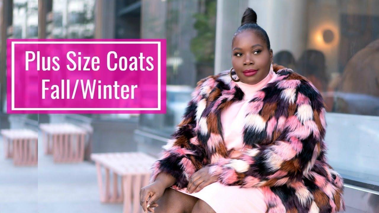 f53163cabfa Trendy Plus Size Winter Coats  2018 - YouTube