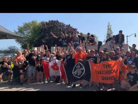 #TGSUNION -  The Glorious Sons Fans, Pre-show Meetup In Kingston Ontario Sept 21st 2019