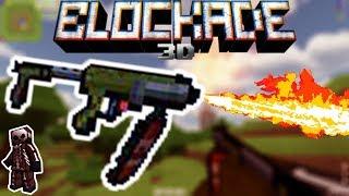 Blockade 3D - Gameplay with FLAMETHROWER