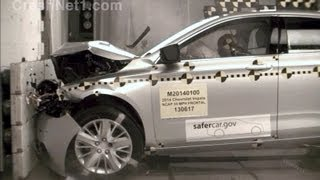 2014 Chevrolet Impala | Frontal Crash Test by NHTSA | CrashNet1