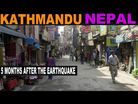 A Tourist's guide to Kathmandu 6 months after the Earthquake