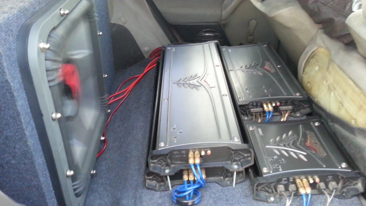 SPL & SQ KICKER SoloX 18 32hz /2 AMP KICKER ZX2500 1 Crazy Bass