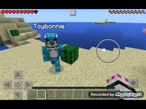 Mangle x toy bonnie Minecraft gift endergirl1212