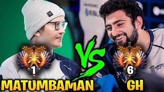 GH vs MATUMBAMAN - CRAZY GAME Between Top 1 and Top 6