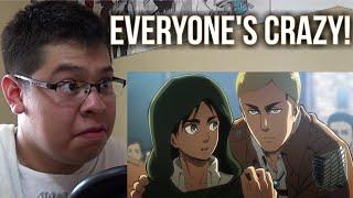 EVERYONE S CRAZY Reacting To A SLAP ON TITAN Episode 15