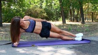 10 простых упражнений для тонкой талии и проработки косых мышц пресса(В этой серии тренировок для похудения, показаны простые упражнения для похудения, в которых максимально..., 2016-09-22T19:56:23.000Z)