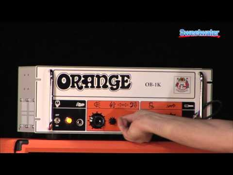 Orange OB1K Bass Amplifier Demo - Sweetwater Sound