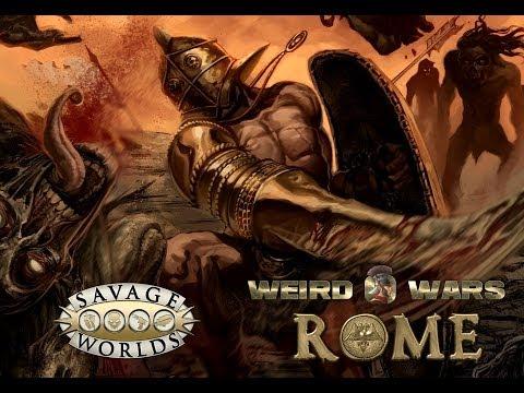 Weird Wars Rome Kickstarter Video