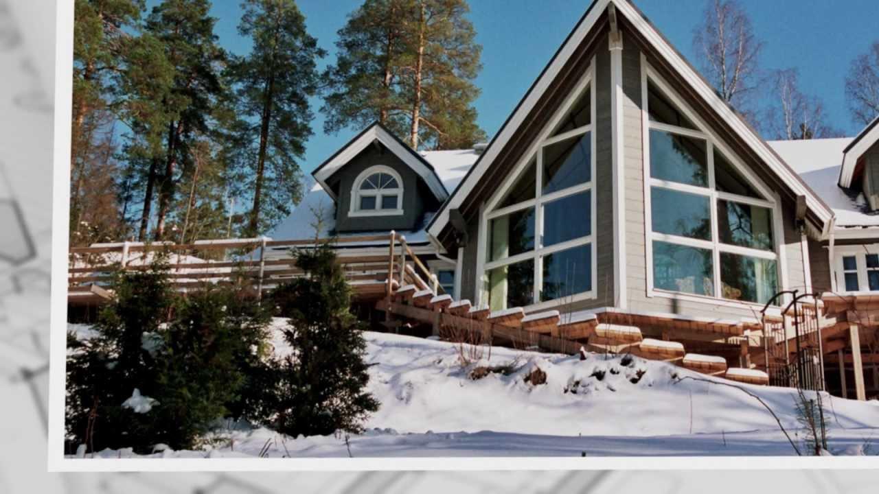 Artichouse maisons en bois chalets de la finlande for Maison en bois finlandaise