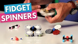 Can You Build the Best LEGO Fidget Spinner?! | BRICK X BRICK