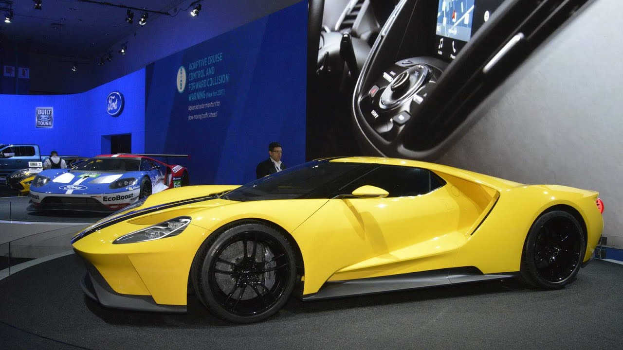2017 ford gt review rendered price specs release date youtube. Black Bedroom Furniture Sets. Home Design Ideas