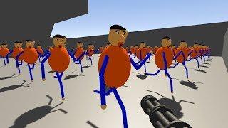 「あいつ」を機関銃で撃ちまくってみた。新バルディ先生の学校~Baldi