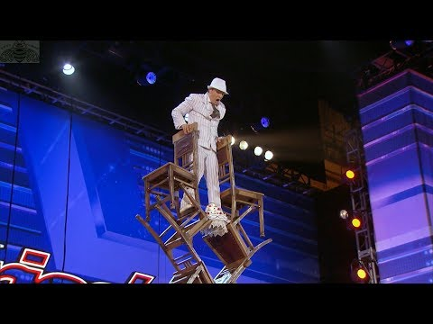 America's Got Talent 2017 Maxim Popazov Amazing Balancing Act Full Audition S12E05