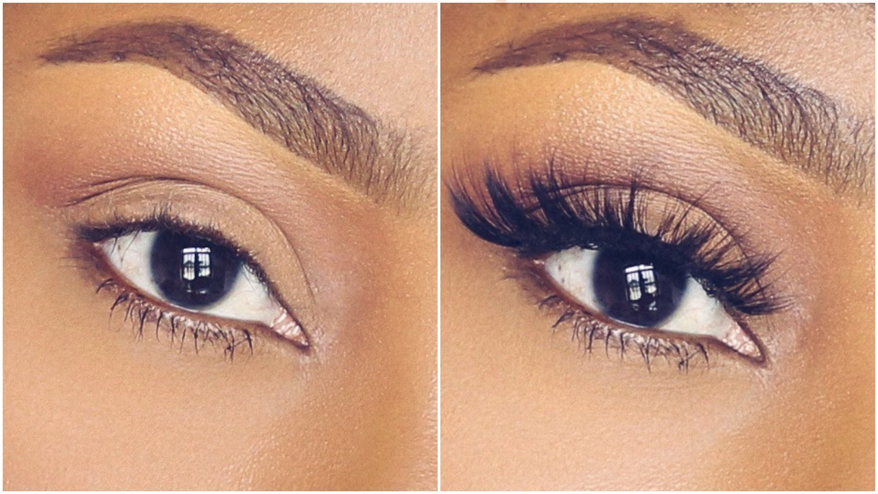How To Apply False Eyelashes On Curly Lashes Beginner Friendly