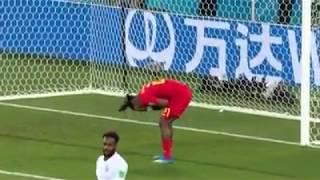 Michy Batshuayi goal celebration fail world cup 2018