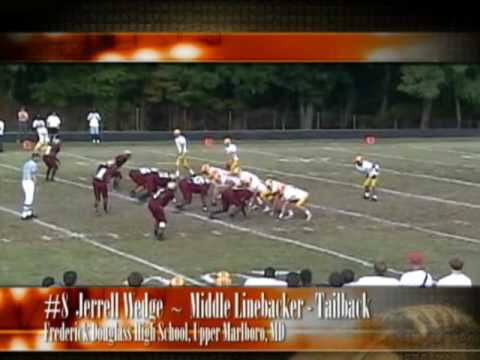 Part 3.  #8 Jerrell Wedge. Linebacker - Tailback.  Frederick Douglass High School
