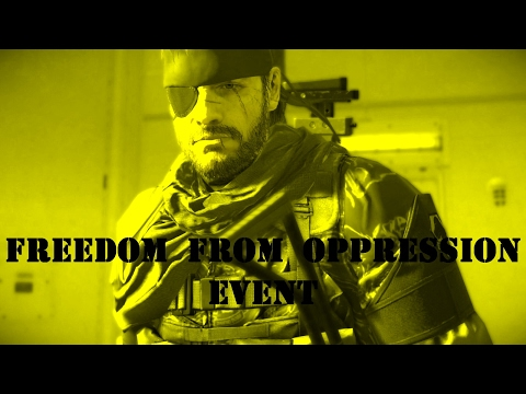 Metal Gear Solid 5 - Forward Operating Base Missions - Big Boss - Freedom From Oppression Event