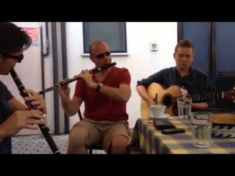 """""""Eire"""" 2014 [Bondeno] Flute session - Reel set"""