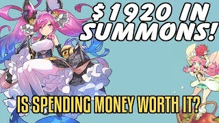 Dragalia Lost - Is It Worth It To Spend Money? $1,920 In Summons!