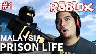 A prisoner Mengganas! | Prison Life v. 2.0 #1 | Roblox Malaysia