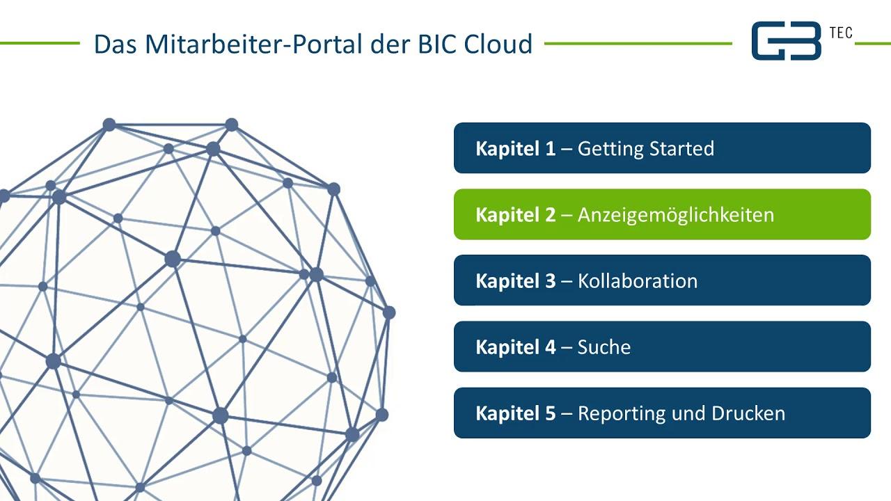Das BPM Portal der BIC Cloud