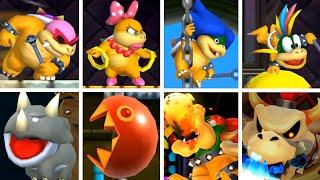 New Super Mario Bros. 2 HD - All Bosses (No Damage)