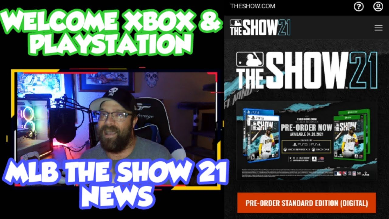 MLB THE SHOW 21 IS ON XBOX AND PLAYSTATION! WELCOME TO THE COMMUNITY!