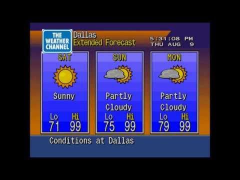 Dallas (Love Field) weather - 8/9/2012 at 5:30 PM