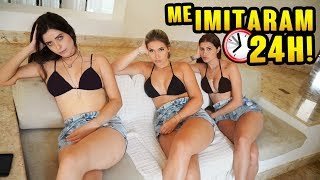MINHAS AMIGAS ME IMITARAM 24H!!!!