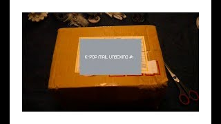 K-pop mail unboxing #1 || Chocho Kook