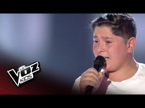 Iván Hernández: 'Válgame Dios' – Audiciones a Ciegas  - La Voz Kids 2018