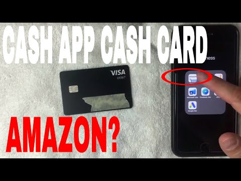 ✅  Can You Use Cash App Cash Card On Amazon 🔴